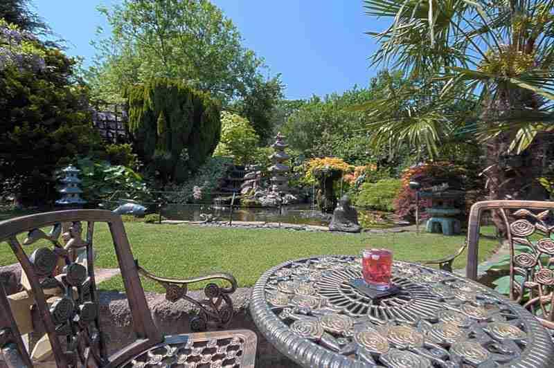 Wisteria Cottage garden